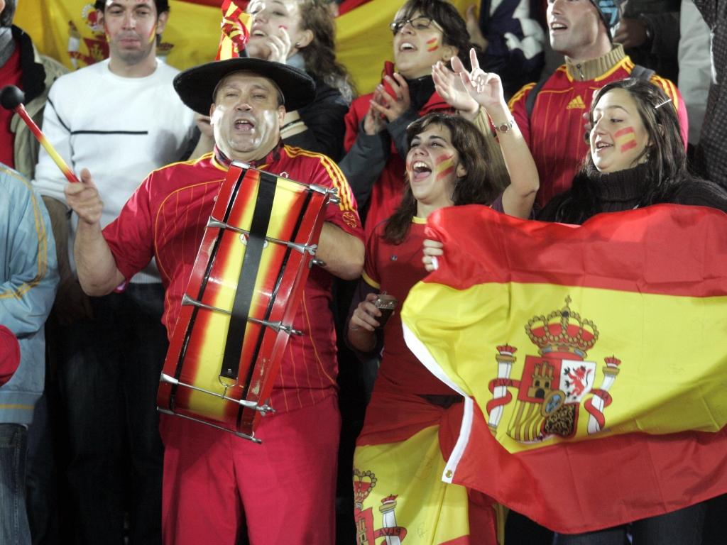 Roban el bombo de Manolo, el mítico aficionado de la selección española
