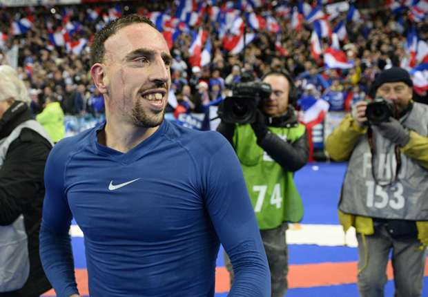 'No danger of Ribery missing World Cup' – French FA president