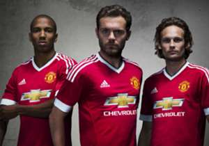 Manchester United have revealed their new Adidas home kit for the 2015-16 season which marks the start of a 10-year agreement worth £750 million...