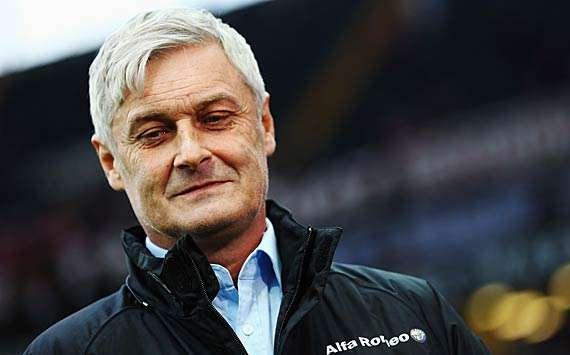Armin Veh von Eintracht Frankfurt