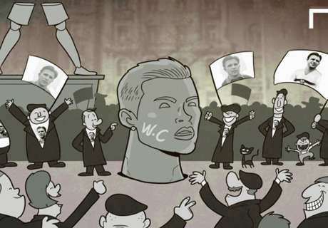 CARTOON: Puskas' Hungarian revolution