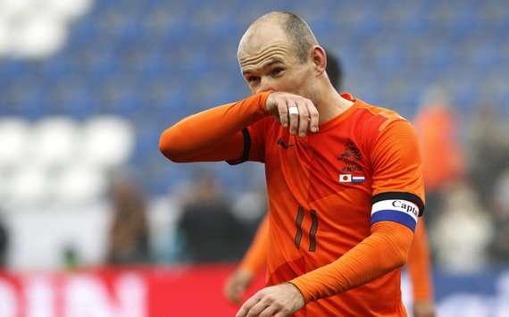 Die Gespenster der Vergangenheit suchen ihn heim: Niederlandes Arjen Robben