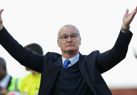 Ranieri: Sassuolo, Leicester-Nya Italia
