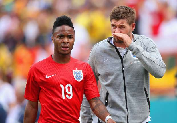 Gerrard lauds Sterling reaction after Ecuador red card