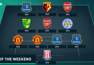 Everton shocked Chelsea and Manchester United beat bitter rivals Liverpool, but who made Goal's Premier League Team of the Weekend?