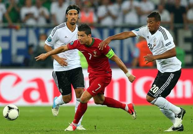 LIVE + Opstellingen: Duitsland - Portugal