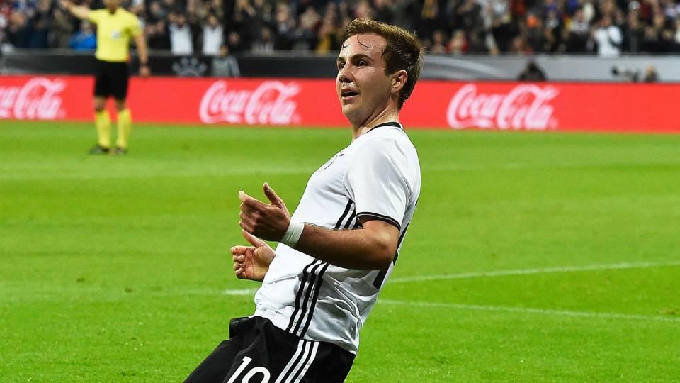 Mario Gotze Germany v Italy