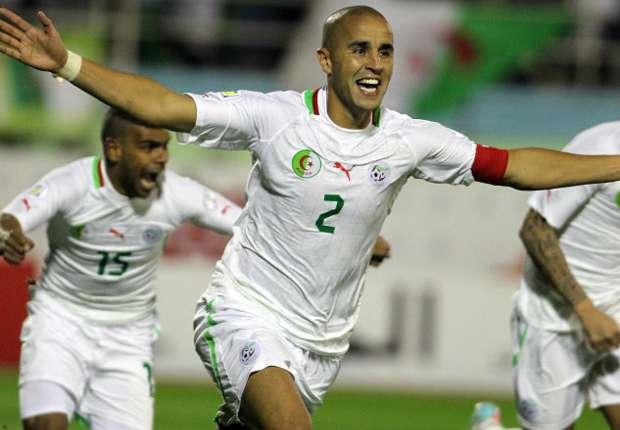 Algeria will initially fine tune at the FA technical centre