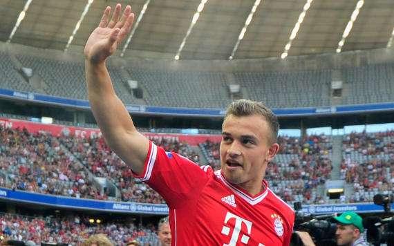 Xherdan Shaqiri wird auch in der kommenden Saison beim FC Bayern kicken