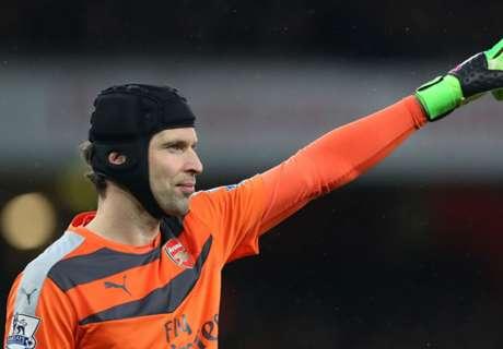 Cech breaks cap record for Czechs
