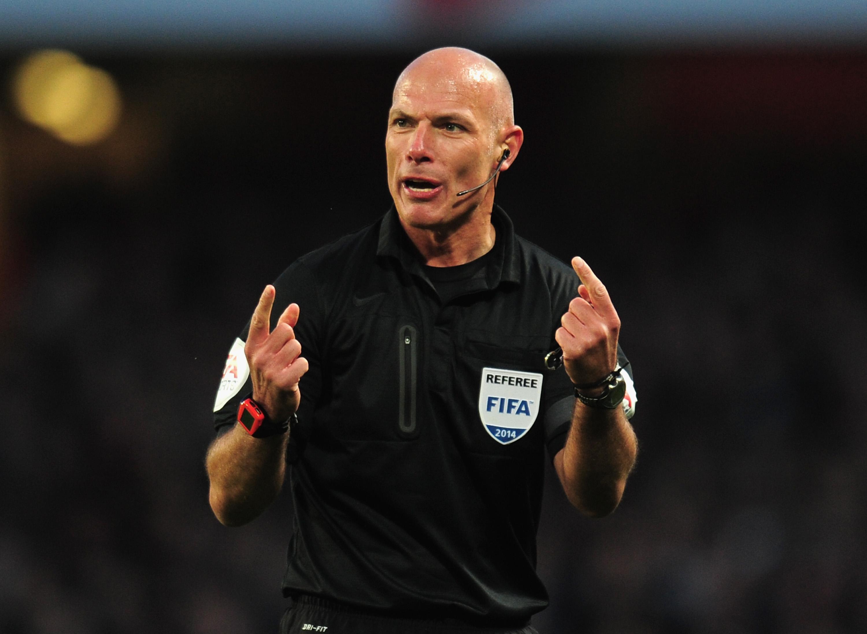 Premier League referee Howard Webb
