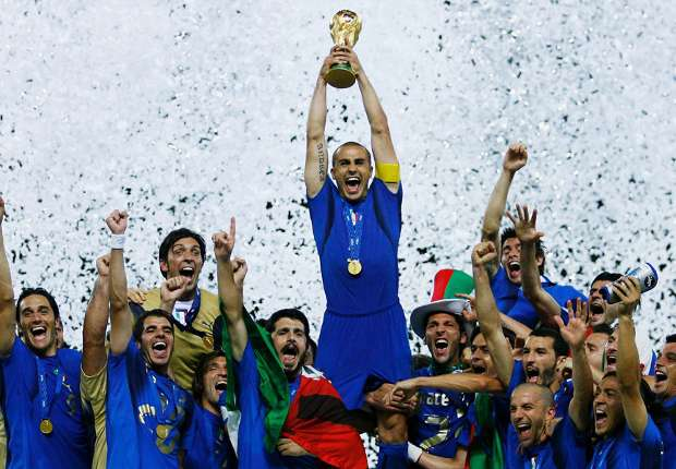 The Italians will look to claim their fifth World Cup in Brazil