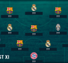 BEST XI : โด้นำทัพ, บาร์ซามาห้า ทีมยอดเยี่ยมแห่งปียูฟ่า