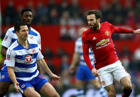 Stam's Reading te licht voor United
