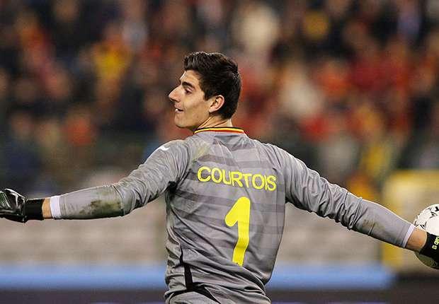 Thibaut Courtois Atletico Madrid