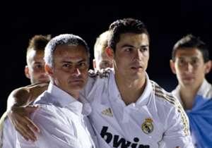 Jose Mourinho & Cristiano Ronaldo - Real Madrid