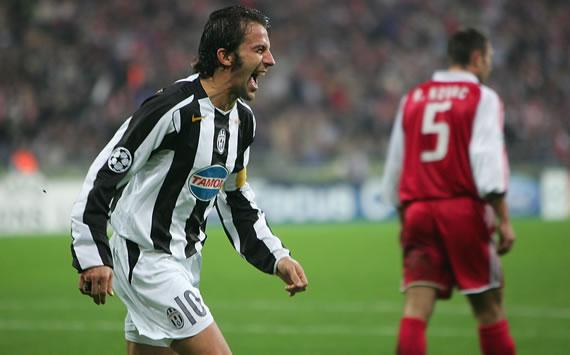 Del Piero - Bayern-Juventus (UCL 04/05)
