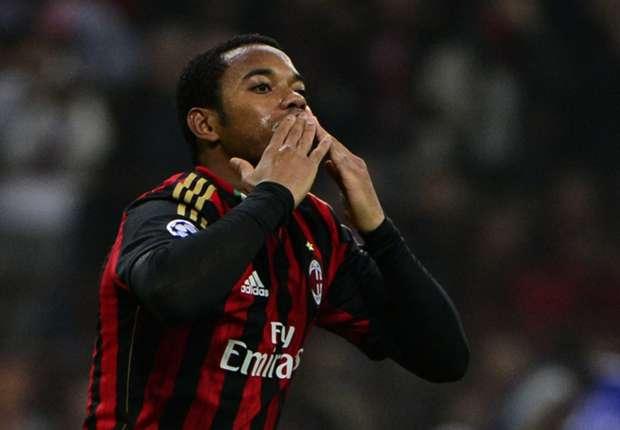 Robinho verlässt den AC Milan in Richtung FC Santos