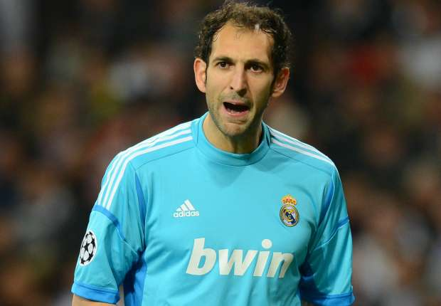Diego Lopez: I'll only leave Real Madrid if they kick me out on my ass
