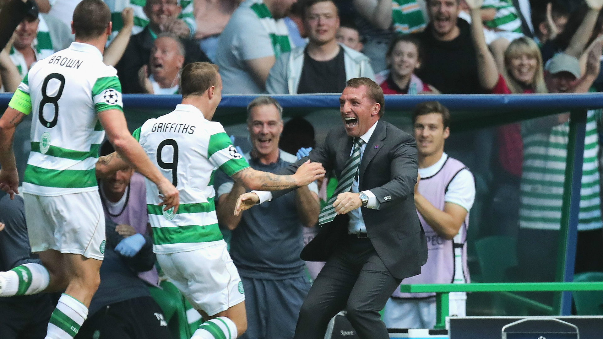 HD Brendan Rodgers Celtic Hapoel Beer Sheva