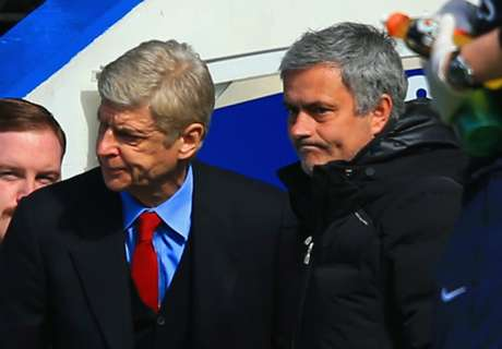 Mou more like Wenger every day
