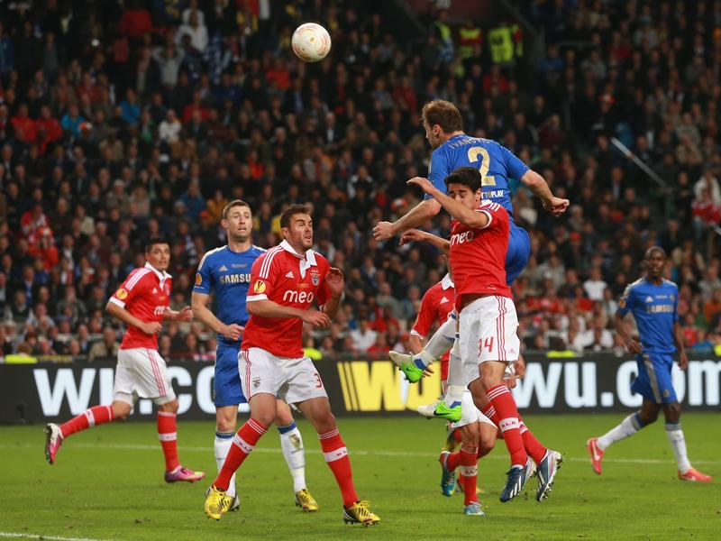 Europa League - Benfica and Chelsea, Branislav Ivanovic
