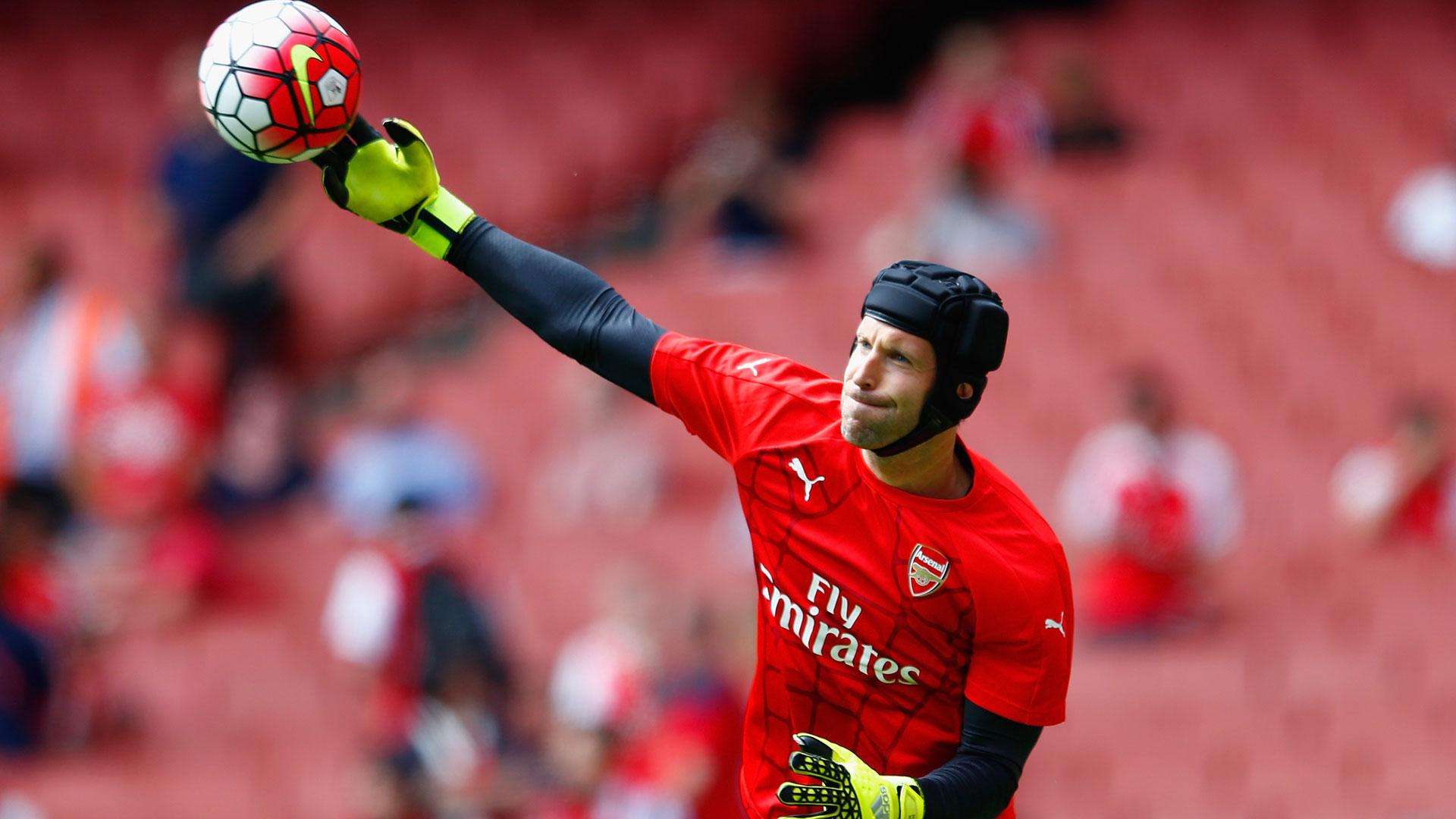Petr Cech Arsenal West Ham Premier League 09082015