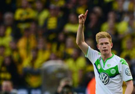 Wolfsburg: No City bid for De Bruyne
