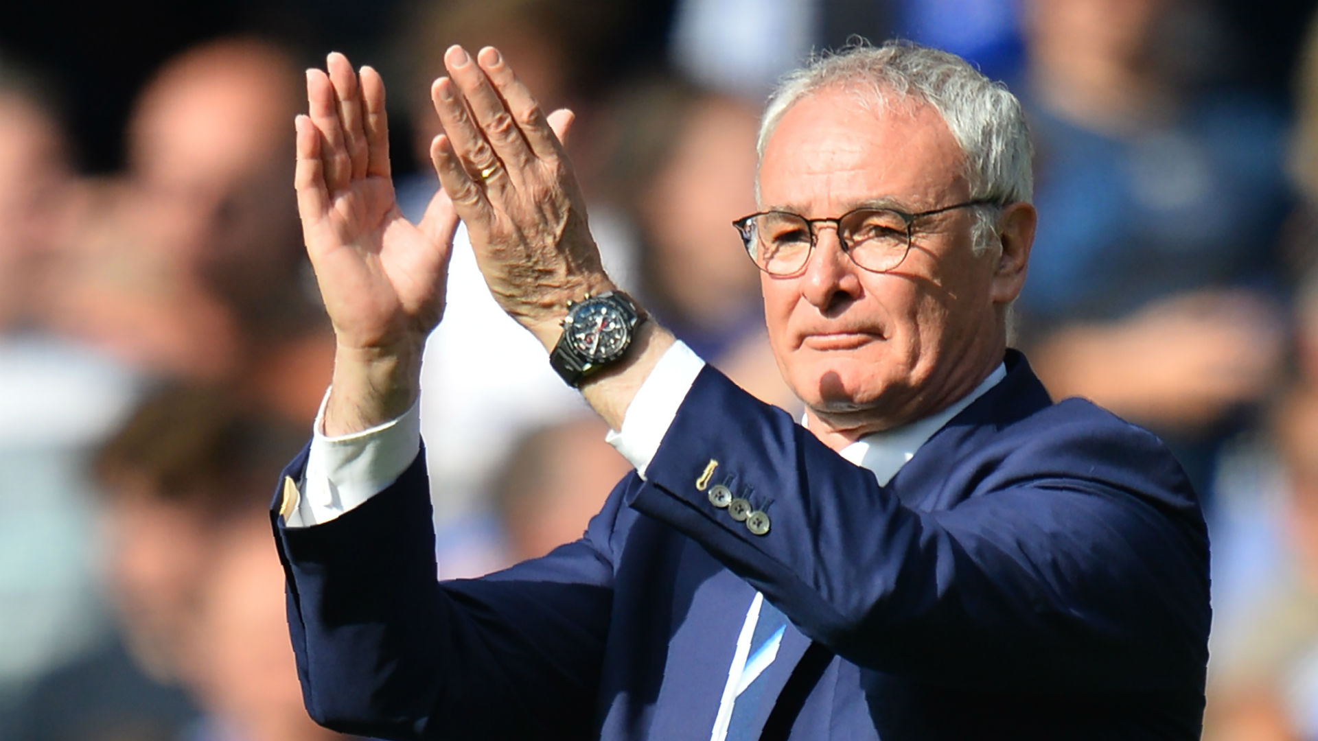 Claudio Ranieri Premier League Chelsea v Leicester
