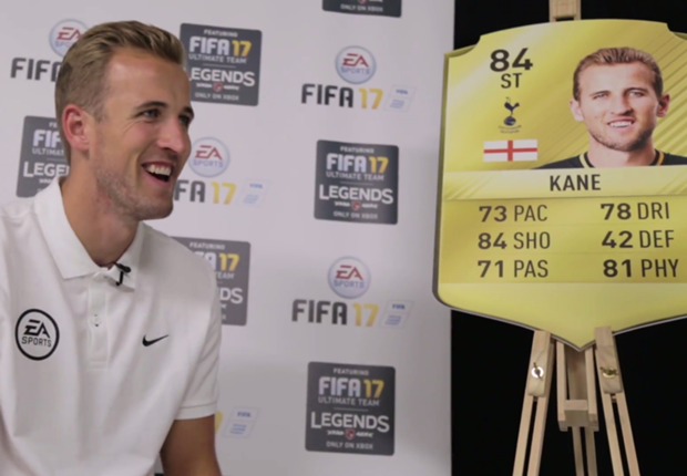 Harry Kane y su blooper con FIFA 17