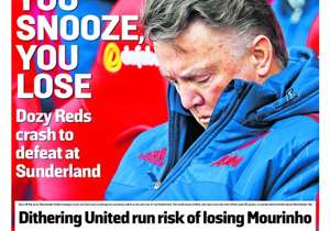 <strong>THE SUNDAY TIMES | UK | YOU SNOOZE, YOU LOSE | </strong>Dozy Reds crash to defeat at Sunderland
