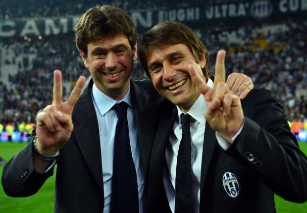 'Conte's departure leaves me enormously sad' - Agnelli