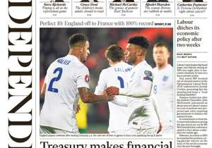 <strong>INDEPENDENT   England   PERFECT 10   England off to France with 100% record </strong>