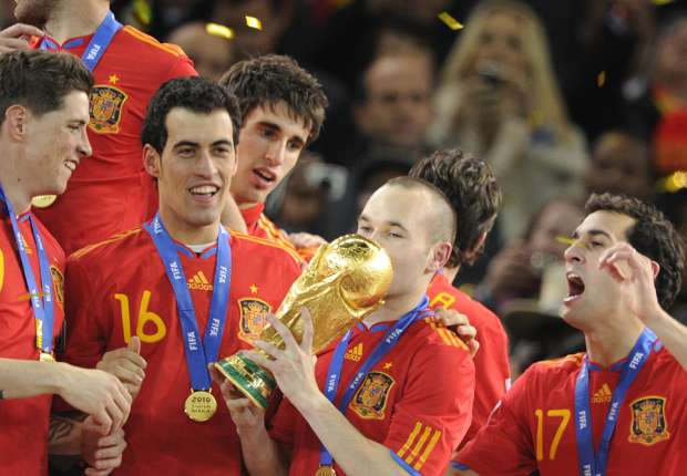 No victory this time but 'Viva Espana' will always be the soundtrack of Spain