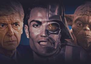 May the Fourth be with you! In honour of the most Star Wars-y day of the year, we've taken a look at some of the footballing stars who could pass as characters in the films. These aren't just lookalikes, though, but players, managers and even a stadium...