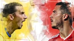 GFX EURO16 Sweden Belgium Euro 2016