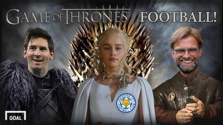 Klopp as Tyrion? Mourinho as Littlefinger? If football were Game of Thrones...