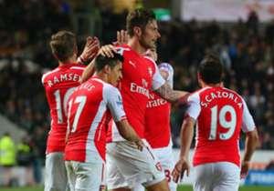 Arsenal | Jumlah Pertandingan: 51 | Jumlah Gol: 100