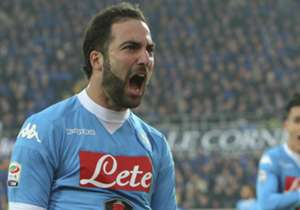 1 | Gonzalo Higuaín | Napoli, Itália | 24 gols | fator 2.0 | 48 pontos
