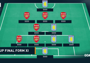 Ahead of Saturday's FA Cup final, Goal takes a look at the most in-form line-up Arsenal and Aston Villa boast