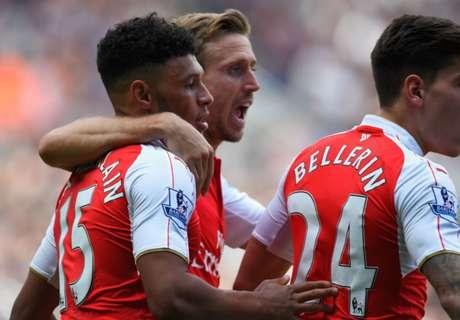 Arsenal s'impose sans briller