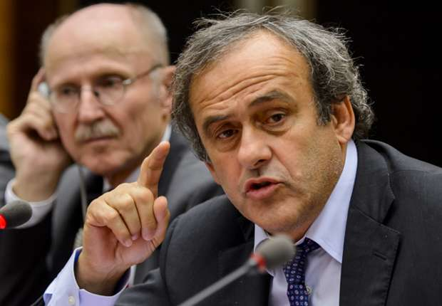 Platini plays down talk of Champions League exclusions