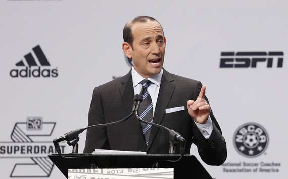 Don Garber 2014 MLS SuperDraft