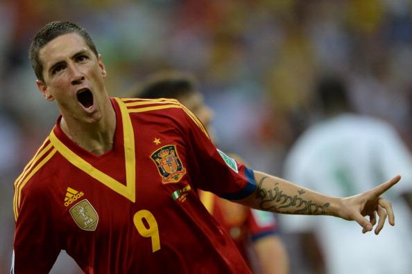 Fernando Torres, Nigeria-España; Copa Confederaciones