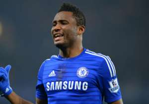 John Obi Mikel made his long-awaited return to action, playing a matter of seconds as Chelsea beat Manchester United 1-0 at Stamford Bridge; it was the Nigerian's first appearance since early February