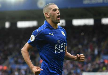 Slimani shines on PL bow for Leicester