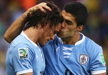 Copa America, l'Uruguay avec Suarez et Cavani