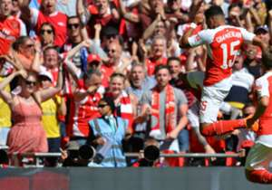 Arsenal have now scored in all eight of their games at the new Wembley.