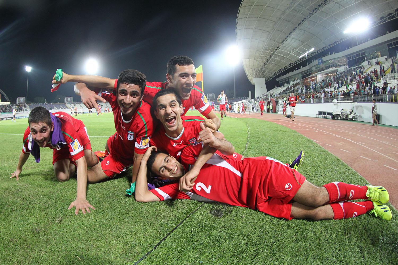 iran u17 vs austria team melli nojavanan iran