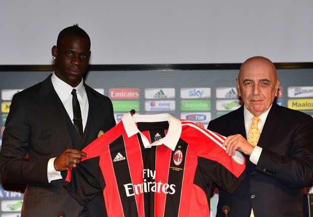 Mario Balotelli war die letzte große Verpflichtung des AC Mailand